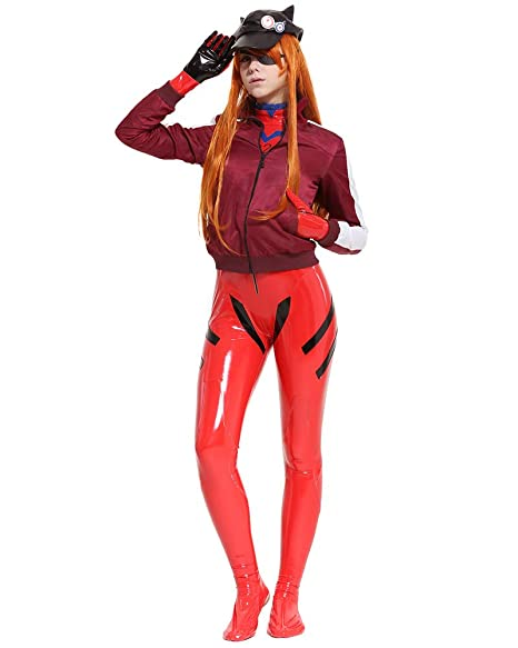 Amazon.com: Cosplay.fm Asuka Langley Sohryu Alter Disfraz de ...