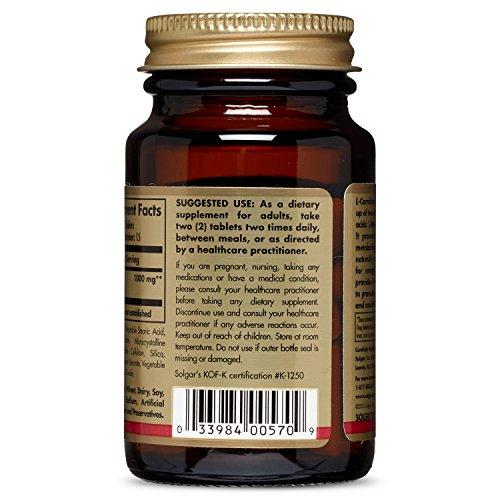 Solgar – L Carnitine 500 mg, 30 Tablets