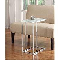 Myco Furniture End Table, Chrome