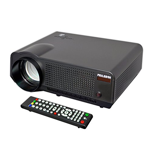 Pyle Video Projector Full HD 1080p Picture, Video & Cinema Home Theater Projector-Built-in Speaker, LCD+LED Lamp, HDMI & USB Inputs for TV Movies, PC Games, Business Offices' Powerpoint Presentations, Computers & Laptops by Pyle