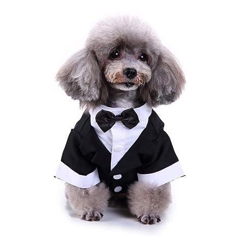 Lovejoy Store Traje de Esmoquin para Perro, Traje Formal de ...