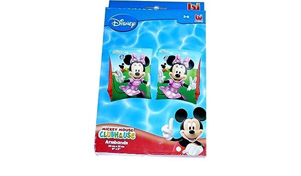 Disney Minnie Mouse Nataci/ón Manguitos Brazo Flotadores Para Ni/ños