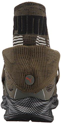Puma Uomo Ignite Evoknit Fold Cf Sneaker Oliva Notte-puma Nero