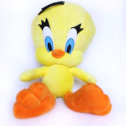 Cherubs Plush Stuffed Tweety (Yellow; 40 cm)