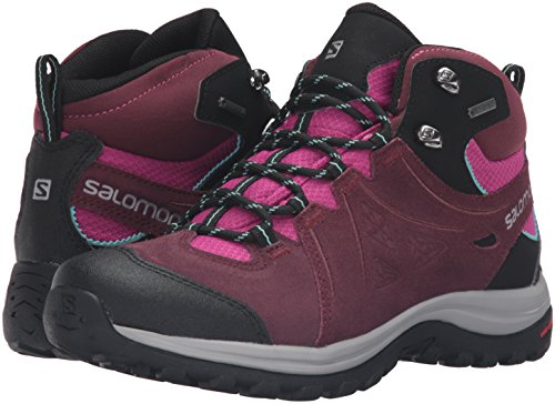 2 Blue Salomon Noir Mid Ltr Boot deep bubble Women's W Hiking Dahlia Pinot Ellipse Gtx 6w1En6Fxrq