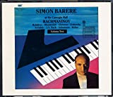 Simon Barere At the Carnegie Hall, Vol. 2: Rachmaninov, Balakirev, Blumenfeld, Glazunov, Godowski, Seriabin, Bach, Schumann & Weber