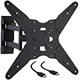 Cattail TV Wall Mount Bracket With Full Motion Swing Out Tilt for 17