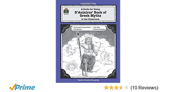 Amazon.com: A Guide for Using D 'Aulaires' Book of Greek ...
