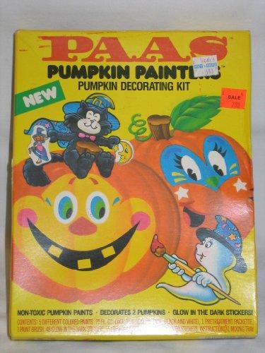 (Vintage Paas Halloween Pumpkin Painting Decorating Kit Glow in the Dark)