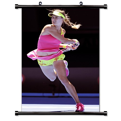 Eugenie Bouchard Tennis Player Wall Scroll Poster  16X26  Inches