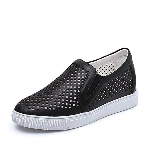 Zapatos Netos Del Color Puro.zapatos Inferiores Planos Y Cómodos Gruesos.zapatos De Gasa Dulce Deportes B