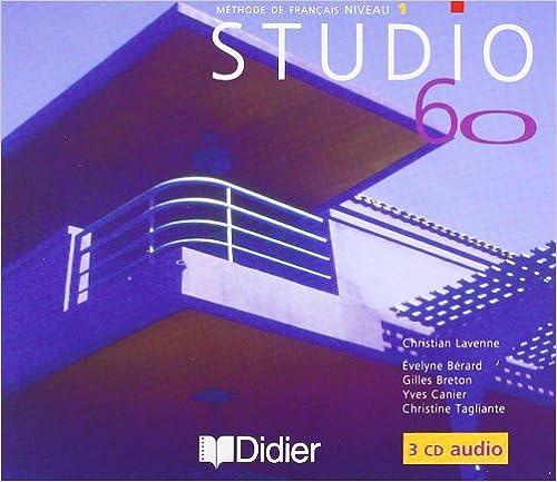 Lire Studio 60, niveau 1, pour la classe (CD audio) pdf