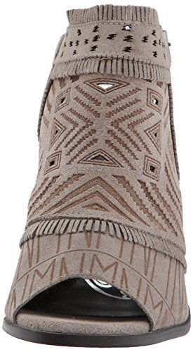Jackie Monkey Zeh Sweet Naughty Taupe Frauen Stiefel Light Leder Fashion Offener t4XSwdwqx