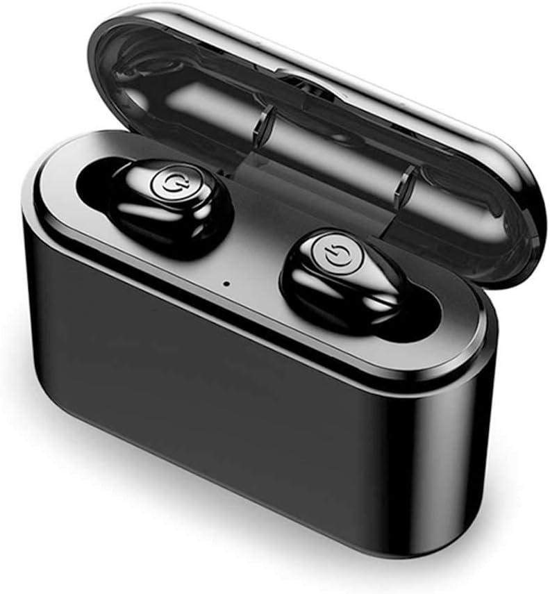 JIESHI TWS X8 True Wireless Earbuds Bluetooth Earphones Mini TWS Waterproof with 3500mAh and 2200mAh Power Bank for Phone