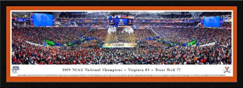 Virginia Cavaliers, 2019 NCAA Basketball Champions - Single Mat, Select Framed Picture by Blakeway Panoramas