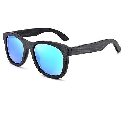 MJ-Sunglasses Gafas de Sol polarizadas, UV400 Bamboo Eyewear ...