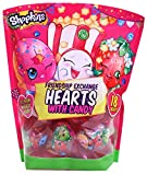 #3: Shopkins Valentine's Day Classroom Plastic Heart Gifts with Candy, 18 Count