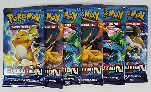 Pokémon XY12 Evolution Booster (6 Stück)  9UJHm