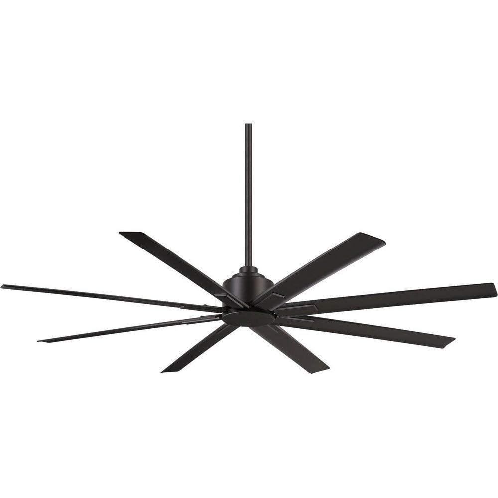 Minka-Aire F896-65-CL Xtreme H2O 65'' Outdoor Ceiling Fan with Remote Control, Coal