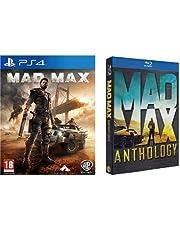 Mad Max PlayStation 4 + Mad Max - Anthology (4 Blu-Ray)