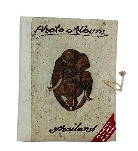 Eco-friendly Handmade Mulberry Paper Scrapbook Photo Book Album 4x6 (#2)