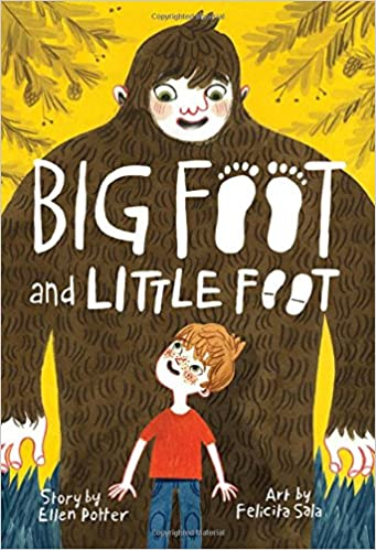 Cover art for the book entitled Big Foot and Little Foot