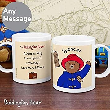 Paddington Bear Vaso De Plastico Personalizable Para Ninos Amazon