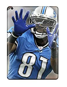 Durable Case For The Ipad Air- Eco-friendly Retail Packaging(detroit Lions )