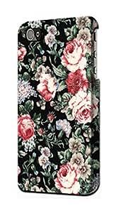 E2727 Vintage Rose Pattern Funda Carcasa Case para IPHONE 5 5S