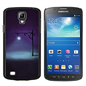 Stuss Case / Funda Carcasa protectora - Noche Lámpara Luz brillante Deep Dark - Samsung Galaxy S4 Active i9295