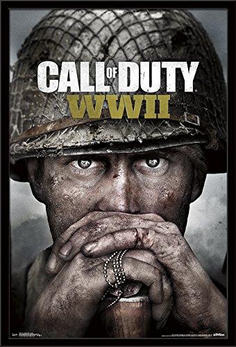 Trends International Framed Poster Call of Duty: Wwii-Key Art, 24.25