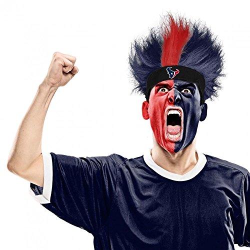 Bleacher Creatures Houston Texans Spirit Wig, Adult Unisex, Multi