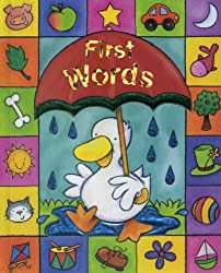 Sparkly Learning: First Words: Learn first words in lively pictures, in a chunky boardbook format with sparkly foil detail throughout