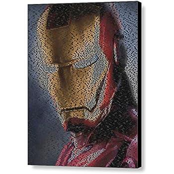 The Flash Superhero Quotes Mosaic AMAZING Framed 9X11 Limited Edition Art w//COA
