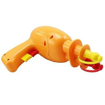 COM-FOUR® Dispensador de mostaza y ketchup en forma de pistola, naranja: Amazon.es: Hogar