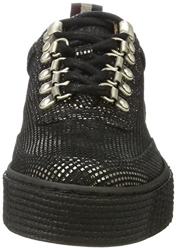 Tommy Silver 1z Sneakers K1385elly Jeans Dark Femme Basses Argent qrBSqH