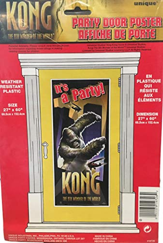King Kong Party - It's A Party Kong Door Cover (The 8th Wonder of The World) 27