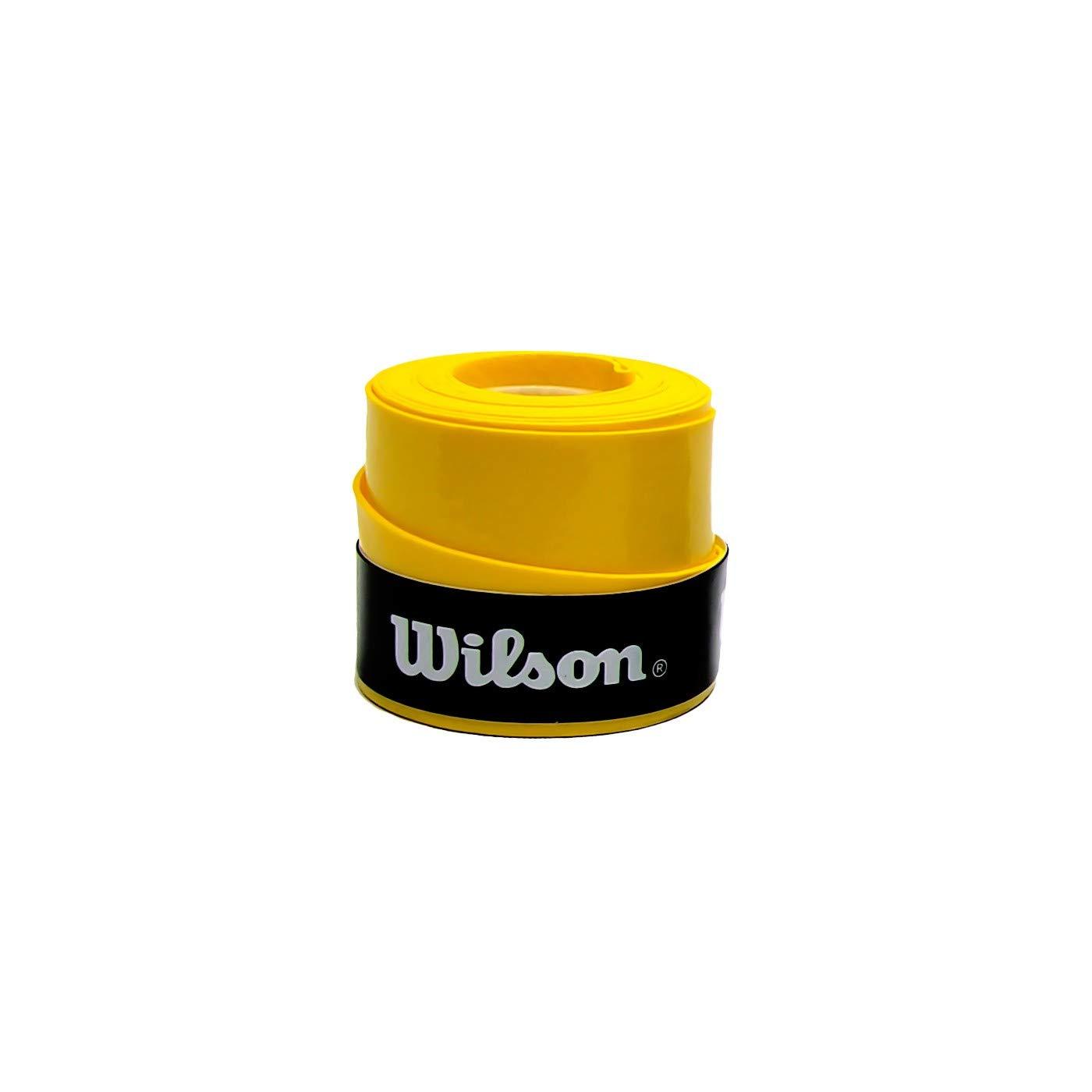 ZRZ Pack Grip Padel HESACORE Tour Grip + 1und overgrip Wilson Confort Amarillo: Amazon.es: Deportes y aire libre