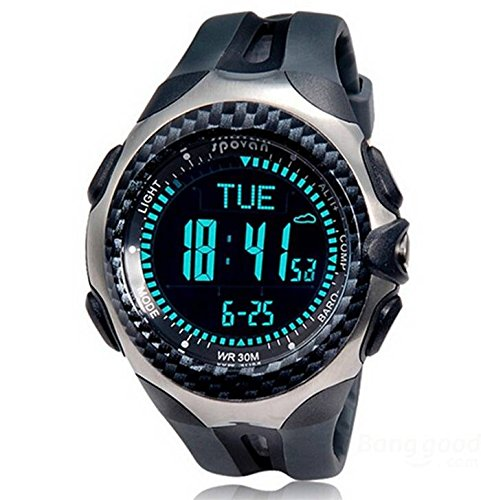 Bazaar Spovan MINGO Sports Functional Outdoor Digital Compass Hiking Watch
