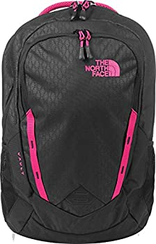 The North Face Women's Vault Backpack - Tnf Black Embosspetticoat Pink - One Size (Past Season) 1