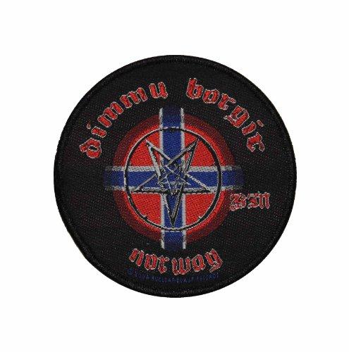 Dimmu Borgir Norway Pentagram Black Metal Music Band Woven Applique Patch