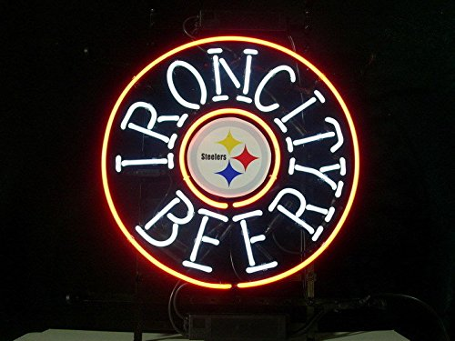 Urby™ 24''x20'' Sports Teams PSs_IronC_Custom Neon Sign Beer Bar Pub Neon Light 3-Year Warranty-Fantastic Artwork! S54