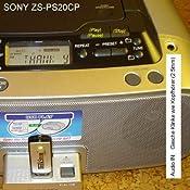 Sony ZS PS 20 CP CD-Radio-Rekorder mit USB Silber/grau