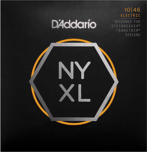 D'Addario NYXLS1046 Nickel Plated Guitar Strings - Regular Light