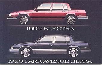 1990 buick electra and park avenue ultra original factory. Black Bedroom Furniture Sets. Home Design Ideas