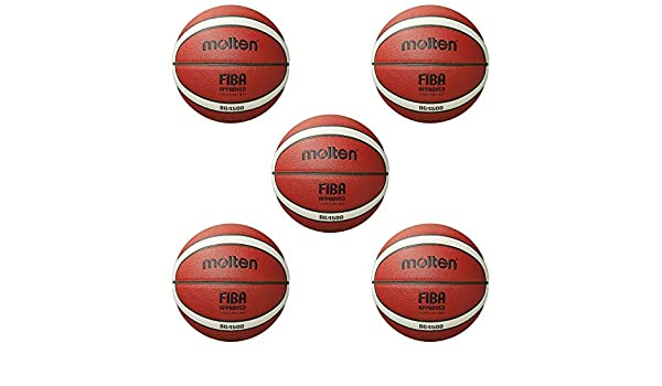 Fan Sport 24 Molten B6G4500-DBB Fiba - Balón de Baloncesto (tamaño ...