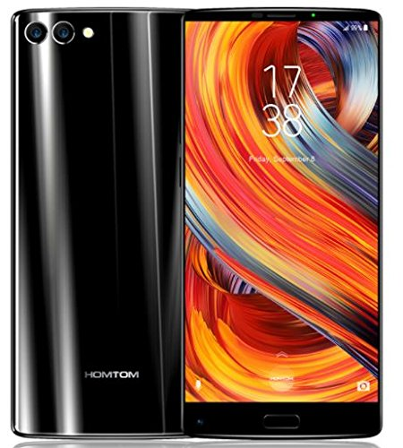 HOMTOM S9 Plus 5.99-inch 18:9 Bezel-less Mobile Phone 4G-LTE Fingerprint Smartphone 4GB RAM 64GB ROM Smartphones at amazon