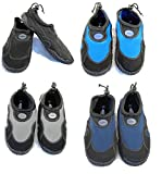 Blue Rush Mens Beach Wetsuit Aqua Shoes - 9 - Black/Navy