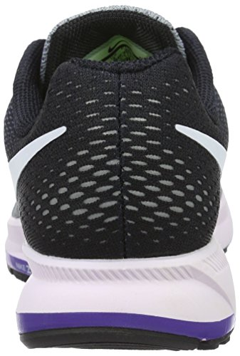 Zoom Purple WMNS schwarz Multicolore de Chaussure Weiß Pegasus 33 Stealth Nike Femme fierce Air Sport wEqCZ