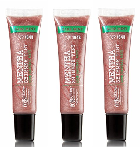 (Bath & Body Works C.O. Bigelow 3 Pack Mentha Shimmer Tint Bare Mint #1648)